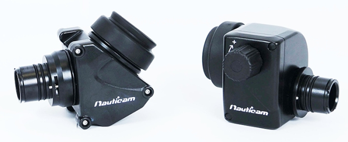 Nauticam 45º and 180º viewfinders